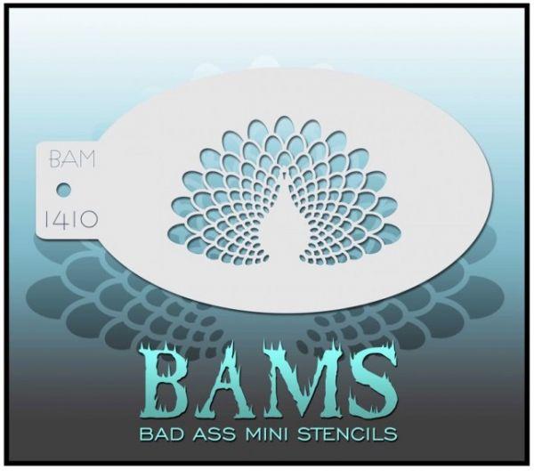 Bad Ass BAM Schminkschablone 1410