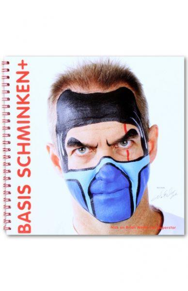 Schminkbuch Scary Facepainting von Nick Wolfe