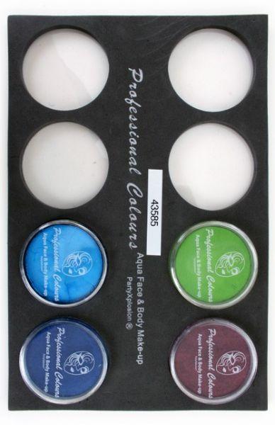 PXP Schminkkoffer Einlagen Tray für 30-Gramm-Gläser
