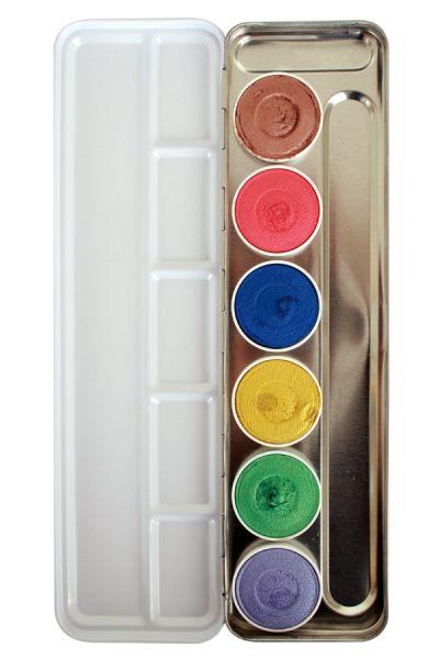 Superstar Schminkpalette Shimmer 6 Farben