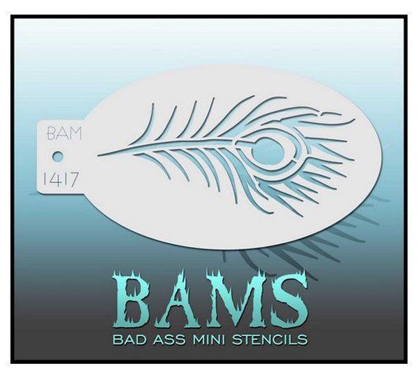 Bad Ass BAM Schminkschablone 1417