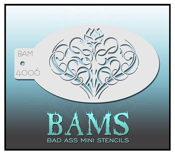 Bad Ass BAM Schminkschablone 4006