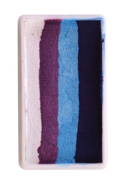 PXP Split Cake weiß lila hellblau dunkelblau PartyXplosion