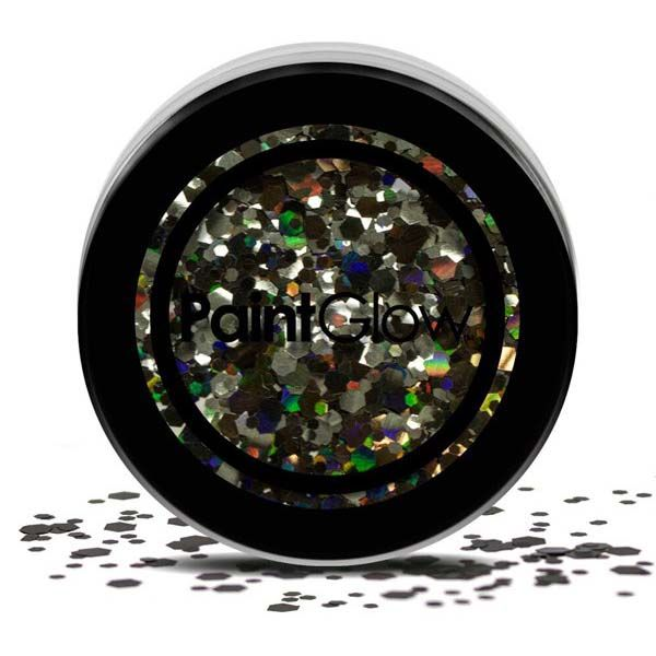 PaintGlow Chunky cosmetic glitzer Schwarz Enchantress