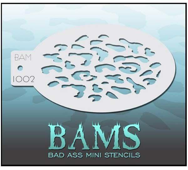 Bad Ass BAM Schminke Vorlagen 1002