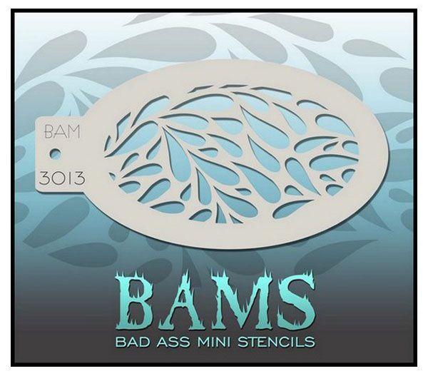 Bad Ass BAM Schminkschablone 3013