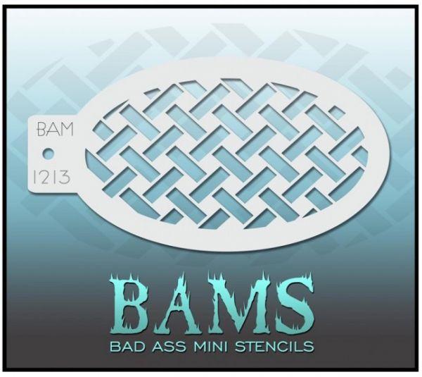 Bad Ass BAM Schminkschablone 1213
