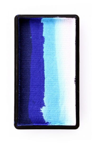 PXP Split Cake tiefblau blau hellblau weiß PartyXplosion