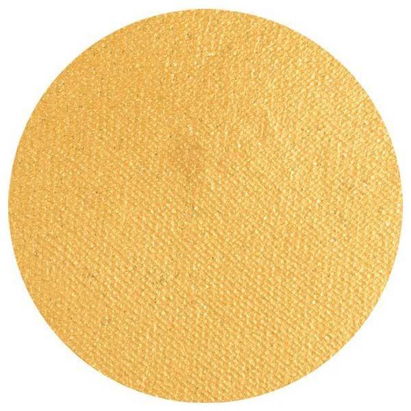 Superstar Schminke Gold mit Glitzer Shimmer Farbe 066