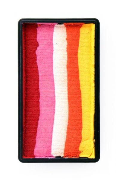 PXP One Stroke Split Cake rot pink weiß orange gelb PartyXplosion