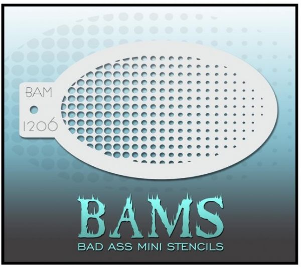 Bad Ass BAM Schminkschablone 1206