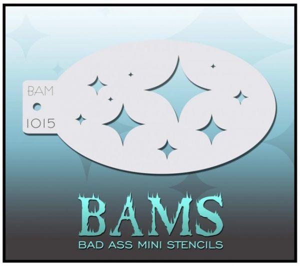 Bad Ass BAM Schminkschablone 1015
