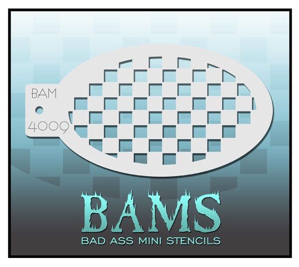 Bad Ass BAM Schminkschablone 4009