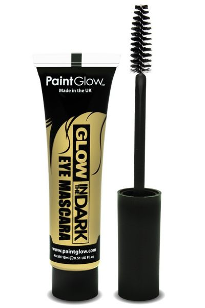 Glow in the dark mascara UV neon invisible