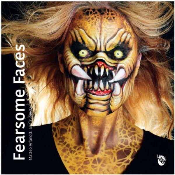 Schminkbuch Fearsome Faces Matteo Arfanotti und Superstar