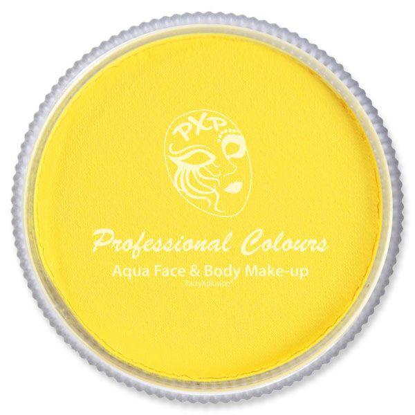 PXP Leuchtend gelbe Gesicht malen FSWS-201F PartyXplosion