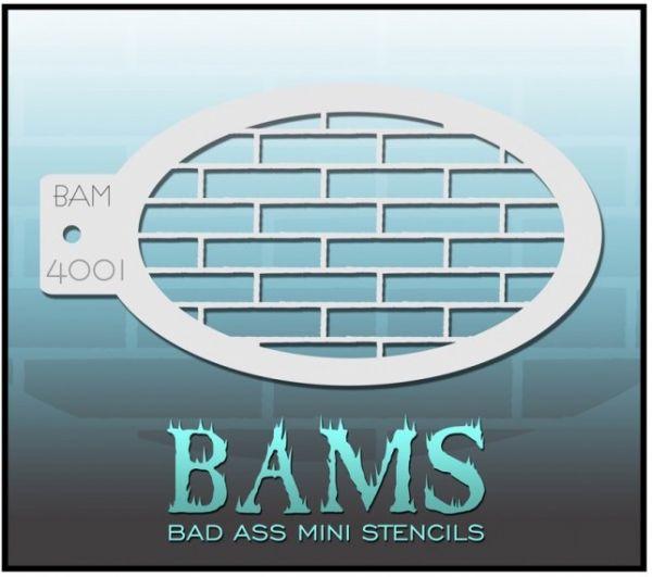 Bad Ass BAM Schminkschablone 4001
