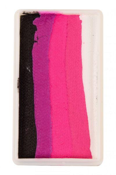 PXP Split Cake Schwarz Magenta Neonrot Pink Weiß