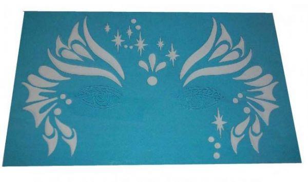 PXP Schminke Schablonen Streifen Sterne Birnen Vorlagen