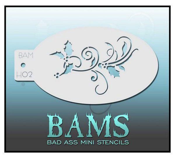 Bad Ass BAM Schminkvorlage H02 4006