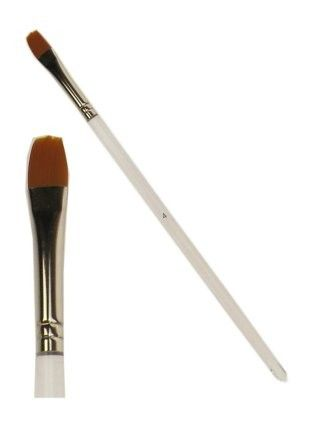 PXP schminkpinsel flach mit abgerundeten Spitze Größe 8 mm breit