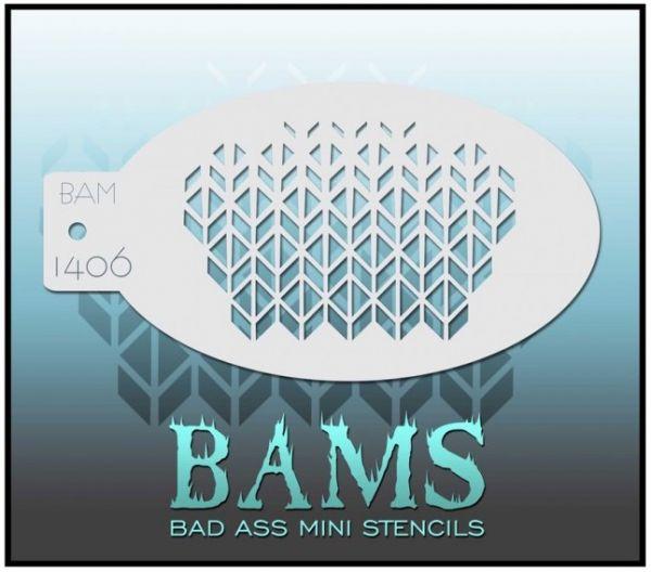 Bad Ass BAM Schminkschablone 1406