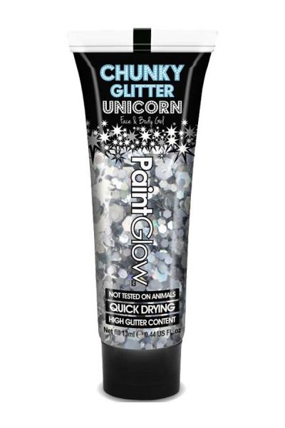 PaintGlow Chunky glitzer gel Disco Fever