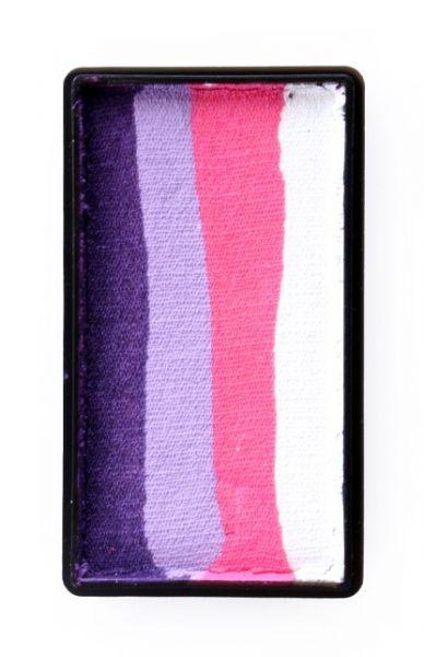 PXP One Stroke Split Cake Purple Rosa Lavendel weiß PartyXplosion