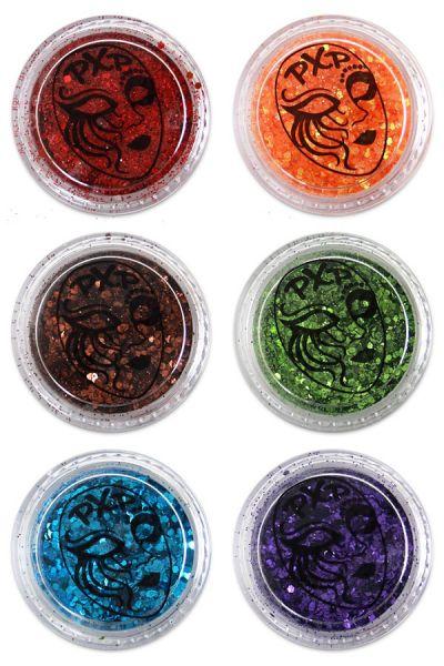 PXP Glitter Regenbogen feiner Glitzer Mix