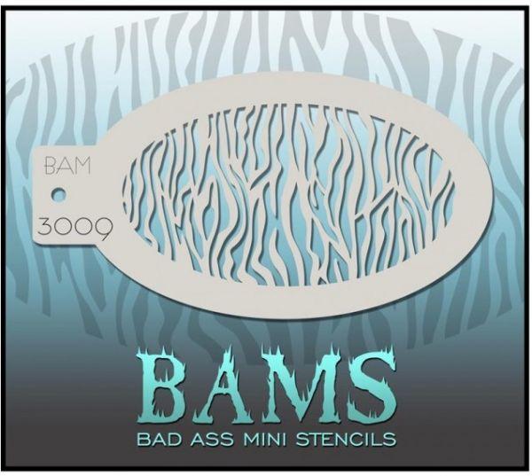 Bad Ass BAM Schminkschablone 3009