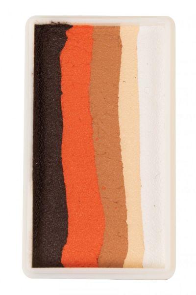 PXP Split Cake Ebony Orange hellbraun hellbeige weiß
