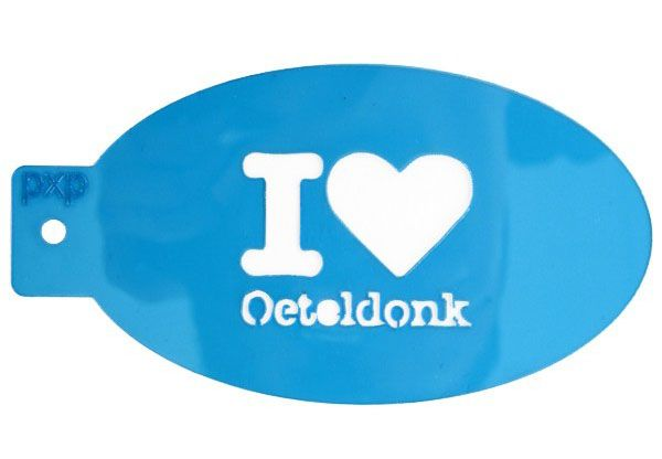 PXP Schminke Vorlage I love Oeteldonk