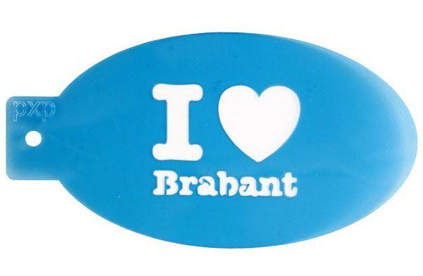 PXP Schminke Vorlage I love Brabant