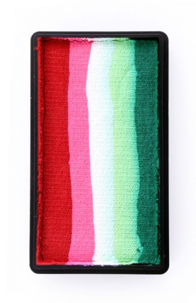 PXP Split Cake rot rosa weiß lime grün PartyXplosion