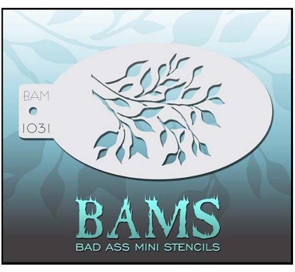 Bad Ass BAM Schminke Vorlagen 1031 Blätter